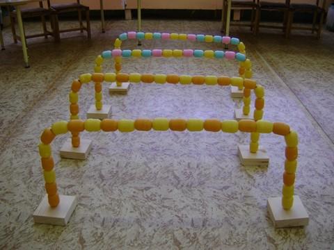 Физкультурное оборудование своими руками в детском саду фото