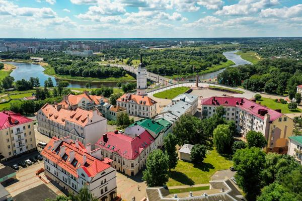 Новый статус получил исторический центр Могилева