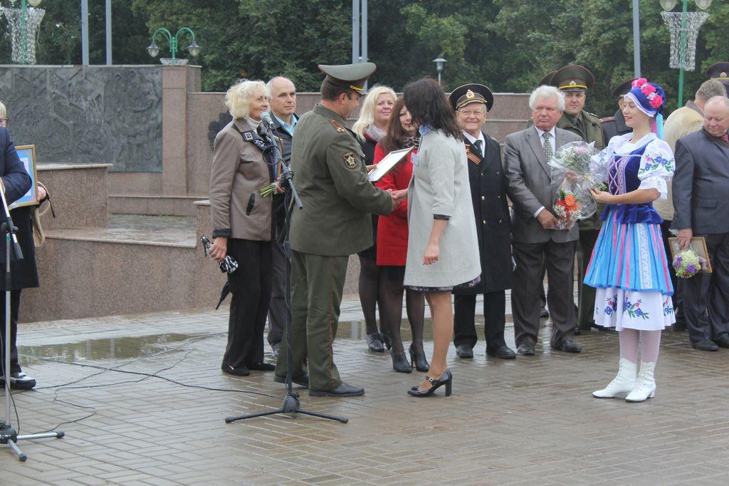 ВМогилёве прошло торжественное открытие городской Вахты Памяти инаграждение Почётных караулов