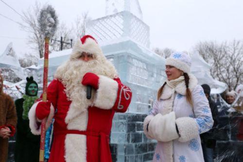 Открытие ледяной резиденции Деда Мороза впарке вПодниколье Могилева переносится