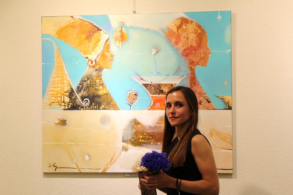 Выставка по итогам пленэра «Могилёв глазами гостей» открылась в выставочном зале