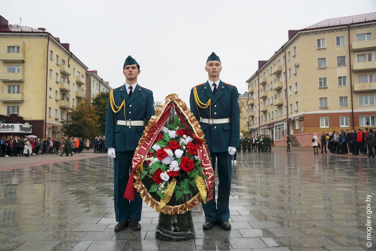 Торжественное открытие Вахты Памяти состоялось вМогилеве