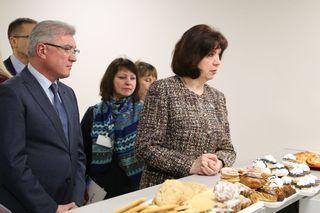 Председатель Совета Республики Национального собрания Наталья Кочанова срабочим визитом посетила Могилев