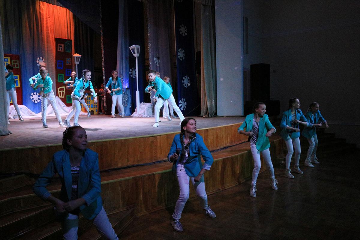 «Музыка подружит нас». Юные таланты представили отчётный концерт