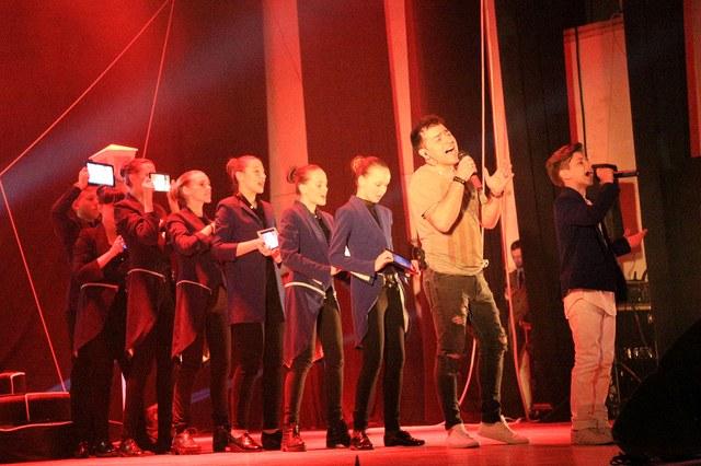 Кирилл Артёменко выступил в Могилёве с сольным концертом