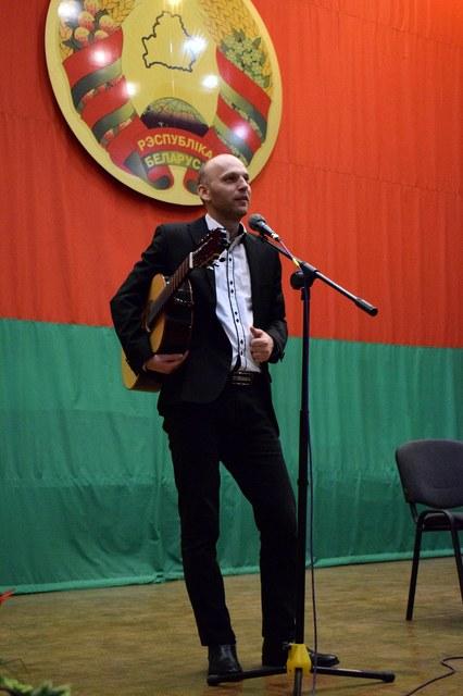 Венгерский гитарист-виртуоз выступил в Могилёве