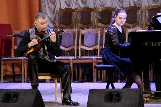 Артист Могилёвской филармонии сыграл на гомельской сцене