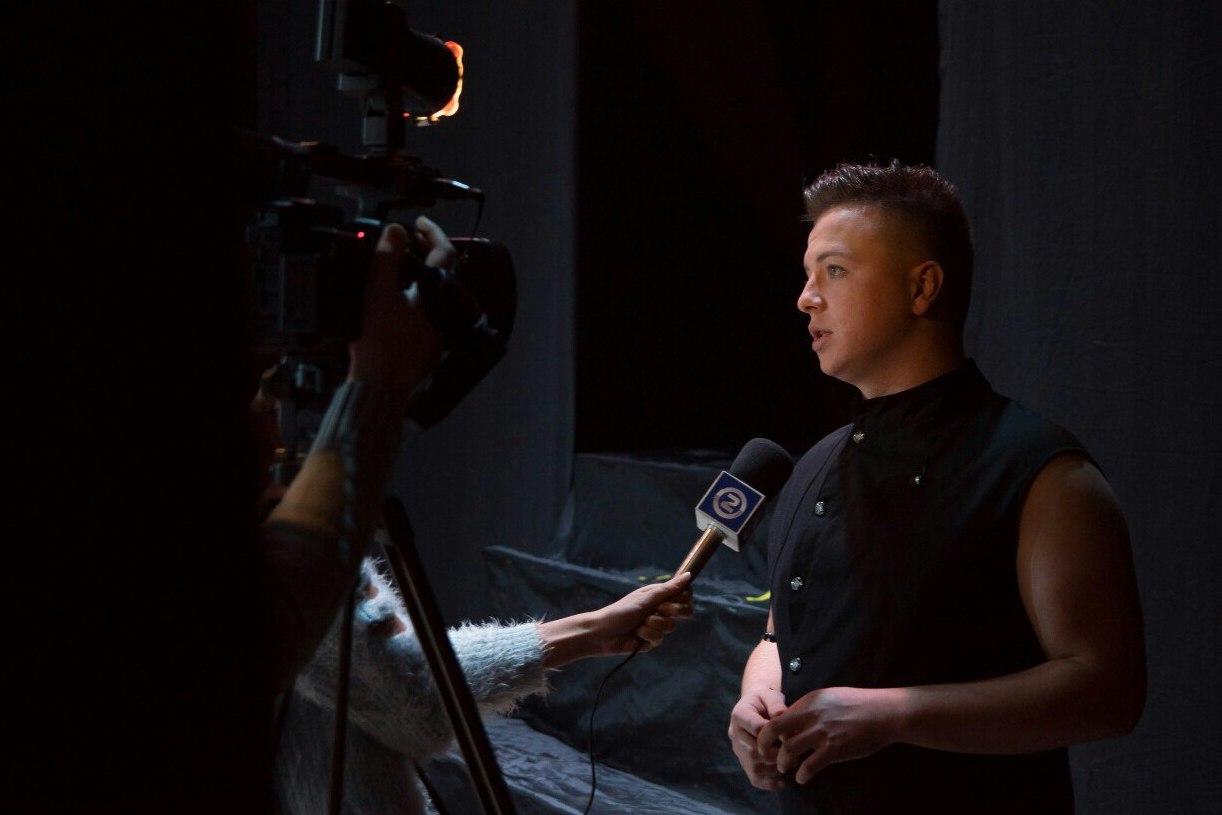 Дмитрий Азаренко выступил вМогилёве ссольным концертом