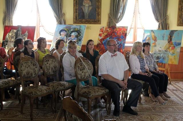 В Могилёве прошло торжественное открытие пленэра «Могилёв глазами гостей»