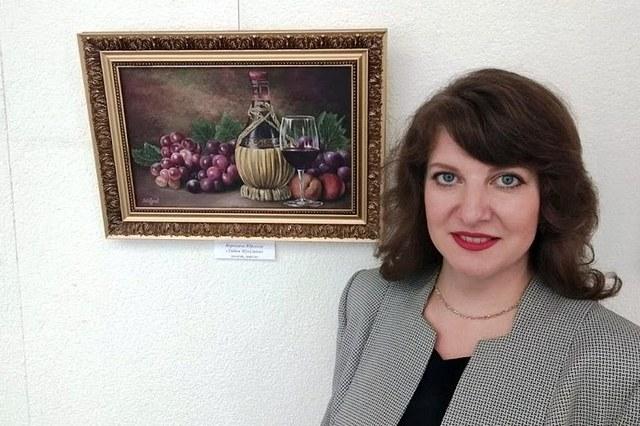 Вераніка Юргелас з нацюрмортам
