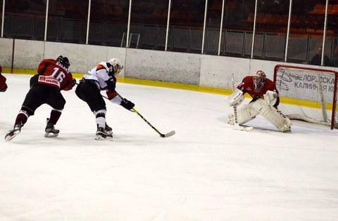 Хоккей: «Могилёв» уступил «Шахтёру» со счётом 0:10